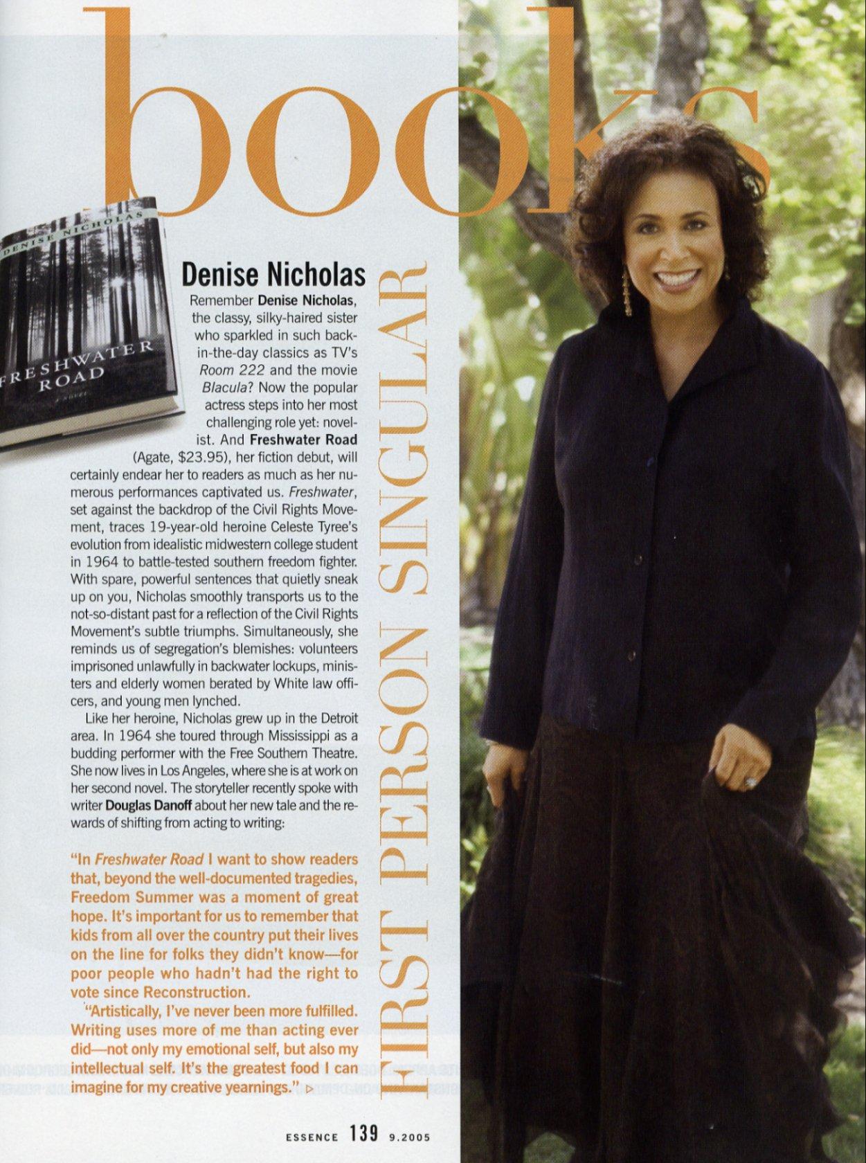 Author Denise Nicholas Official Website