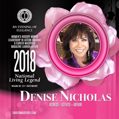 2018 National Living Legend Award Recipient: Denise Nicholas